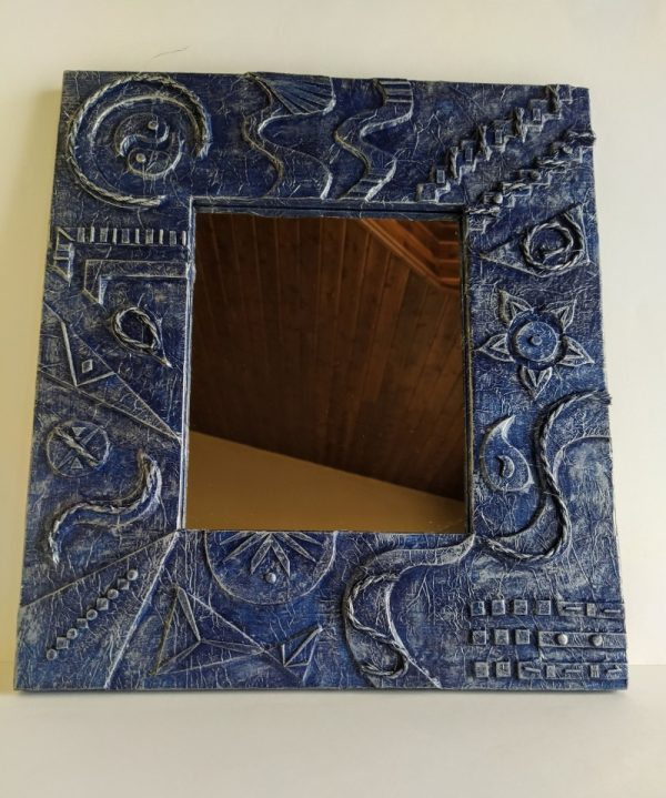 Espejos de madera reciclada de palet
