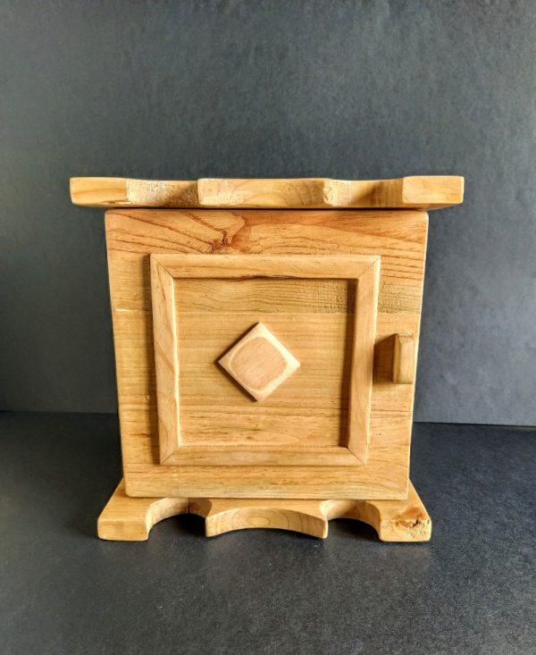 Colgador de llaves de madera reciclada de palet