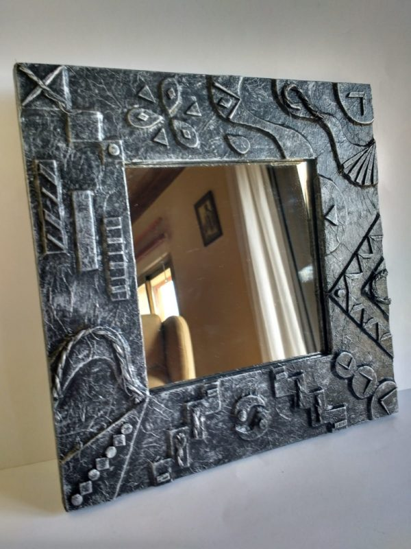 espejos decorados madera reciclada palet