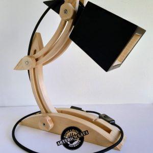flexo regulable de madera reciclada de palet